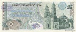 10 Pesos MEXIQUE  1975 P.063h pr.NEUF