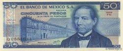 50 Pesos MEXIQUE  1978 P.067a NEUF