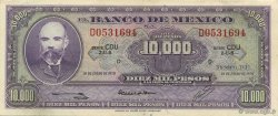 10000 Pesos MEXIQUE  1970 P.072 SPL