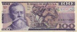 100 Pesos MEXIQUE  1981 P.074a NEUF
