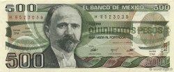 500 Pesos MEXIQUE  1983 P.079a pr.NEUF