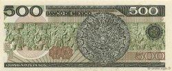 500 Pesos MEXIQUE  1984 P.079b NEUF