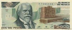 2000 Pesos MEXIQUE  1984 P.082c NEUF