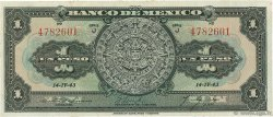 1 Peso MEXIQUE  1943 P.028e TTB