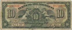 10 Pesos MEXIQUE  1936 P.030 B