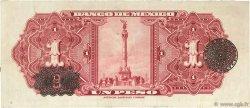 1 Peso MEXIQUE  1945 P.038c TTB
