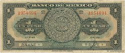 1 Peso MEXIQUE  1948 P.038d TB