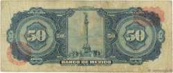 50 Pesos MEXIQUE  1963 P.049o B