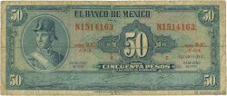 50 Pesos MEXIQUE  1970 P.049s B