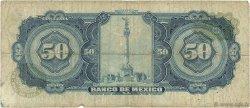 50 Pesos MEXIQUE  1972 P.049u B