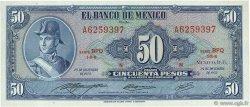 50 Pesos MEXIQUE  1972 P.049u pr.NEUF