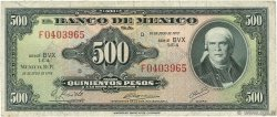 500 Pesos MEXIQUE  1973 P.051q TB