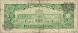 500 Pesos MEXIQUE  1974 P.051r B