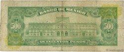 500 Pesos MEXIQUE  1977 P.051s B à TB