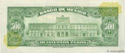 500 Pesos MEXIQUE  1977 P.051s pr.SUP