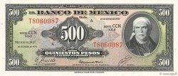 500 Pesos MEXIQUE  1978 P.051t NEUF
