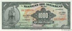1000 Pesos MEXIQUE  1971 P.052o