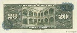 20 Pesos MEXIQUE  1959 P.054h SUP+