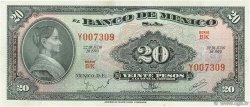 20 Pesos MEXIQUE  1970 P.054p SUP+