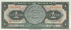 1 Peso MEXIQUE  1954 P.056a NEUF