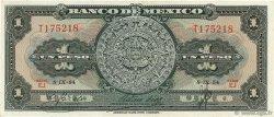 1 Peso MEXIQUE  1954 P.056b SPL