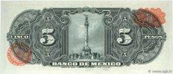 5 Pesos MEXIQUE  1954 P.057c NEUF