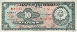 10 Pesos MEXIQUE  1958 P.058e SPL