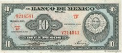 10 Pesos MEXIQUE  1961 P.058i TB+