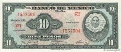 10 Pesos MEXIQUE  1967 P.058l NEUF