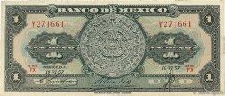1 Peso MEXIQUE  1957 P.059a TTB