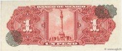 1 Peso MEXIQUE  1958 P.059d TTB