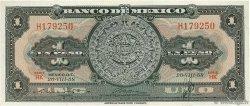1 Peso MEXIQUE  1958 P.059d SUP