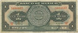 1 Peso MEXIQUE  1959 P.059e B