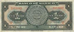 1 Peso MEXIQUE  1959 P.059f B+