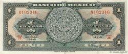 1 Peso MEXIQUE  1961 P.059g TTB