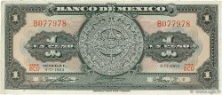 1 Peso MEXIQUE  1965 P.059i TTB
