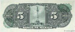 5 Pesos MEXIQUE  1961 P.060f pr.NEUF