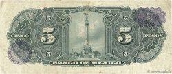 5 Pesos MEXIQUE  1961 P.060g TB