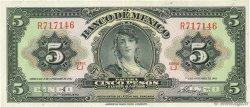 5 Pesos MEXIQUE  1961 P.060g