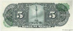 5 Pesos MEXIQUE  1963 P.060h NEUF