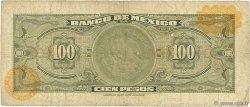 100 Pesos MEXIQUE  1963 P.061b B