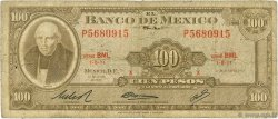 100 Pesos MEXIQUE  1972 P.061g B