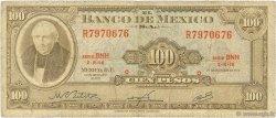 100 Pesos MEXIQUE  1972 P.061h B