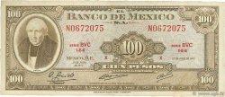 100 Pesos MEXIQUE  1973 P.061i TB