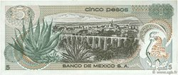 5 Pesos MEXIQUE  1971 P.062b TTB+