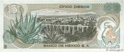 5 Pesos MEXIQUE  1971 P.062b TTB+