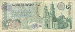 10 Pesos MEXIQUE  1972 P.063e TB