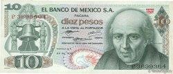 10 Pesos MEXIQUE  1972 P.063e TTB