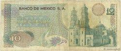 10 Pesos MEXIQUE  1973 P.063f B