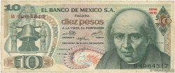 10 Pesos MEXIQUE  1975 P.063h B+